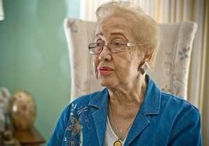 """""""Hidden Figure"""" and human computer, Katherine Johnson, turns 100."""