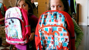 Back-to-school shopping: Bullet proof backpacks.